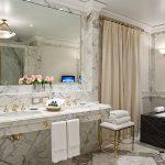 aplicación mármol BLACK FOREST Alvear Palace Suite Royal